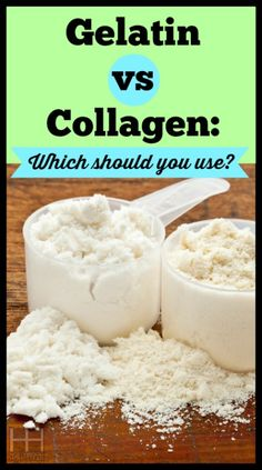 The Difference between Gelatin and Collagen - Hollywood Homestead