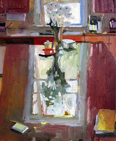 Carole Rabe Kitchen Window Reflection