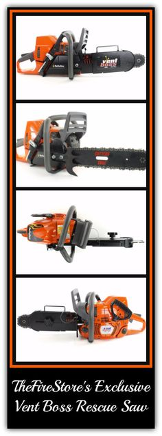 There is a new boss in town!... Introducing TheFireStore's Exclusive Vent Boss Rescue Saw with a Husqvarna Engine. #TheFireStore