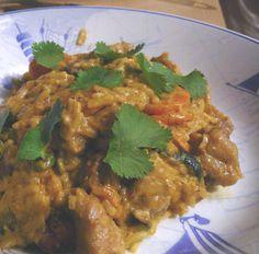 Curry de dinde aux courgettes et aux carottes : la recette facile