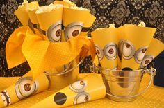 Despicable Me Minion Party via Kara's Party Ideas Kara'sPartyIdeas.com #Minion #PartyIdeas #Supplies (18)