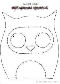 Owl Cushion Tutorial by The Craft Revival | Scribd