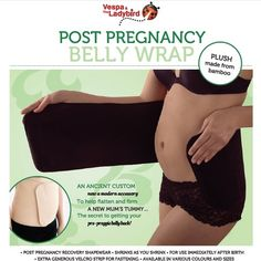 Post Pregnancy Belly Wrap are essential in helping a new mum heal and recovery after pregnancy and beyond. Made with bamboo. $62.95. http://www.marliandmo.com.au