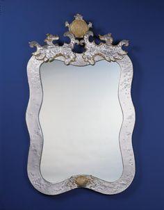 Seawaves Mirror | Carvers' Guild, 30x49.6