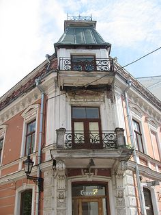 Tartu, Estonia - I'm pretty sure we always passed this house on our way from the hostel to the downtown...