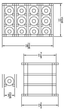 monterey wine racks assembly instructions