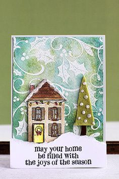 images hero arts pine branch cards - Google Search