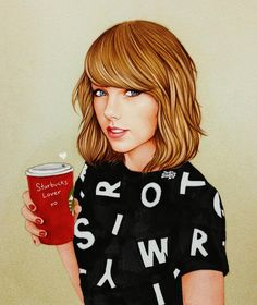 """Starbucks Lover"" ☕️❄️ by theartofdreams"