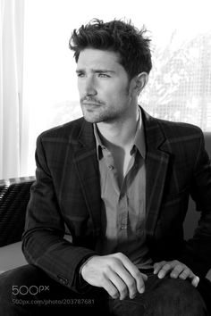 Matt Dallas American actor (Kyle XY) photographe