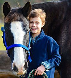 Young Crusader Declan Gregg Advocates for America's Horses within the pages of National Geographic
