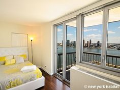 A Quiet Home Away From Home Inside, The Shimmering Isle Of #Manhattan  Outside: Http://www.nyhabitat.com/new York Apartment/furnished/16407