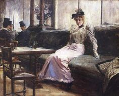 The Parisian Life by Juan Luna on display at the GSIS Museum, Philippines. The Filipino artist captures a scene inside a Parisian cafe during his years living in Paris. Arte Filipino, Filipino Culture, Philippine Art, Life Paint, Spanish Artists, Poker Online, Pinoy, New Artists, Local Artists