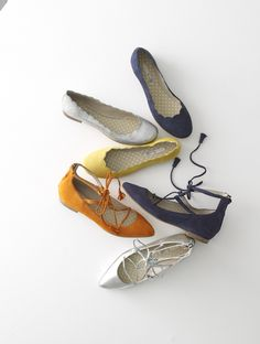 Boden Lille Lace-Ups and Ballet Flats.