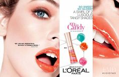 Photo feat. Barbara Palvin - L'Oreal - Spring 2012 Ready-to-Wear - Fashion Advertisement | Brands | The FMD #lovefmd