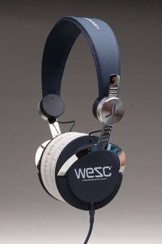 WESC Bass Headphones Jazz Blue