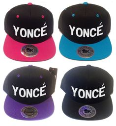 Yonce Snapback Beyonce Flat Bill Hat Bey Cap