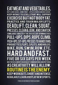 Fitness In 100 Words - Crossfit Founder Greg Glassman