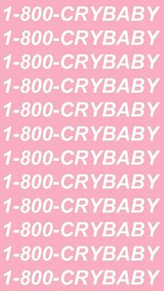 1-800-CRYBABY