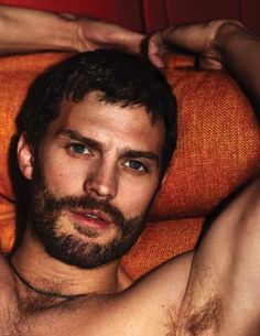 Jamie Dornan Outtakes–Photo outtakes from Jamie Dornan's Interview shoot have emerged. The Fifty Shades of Grey actor covers the June/July issue of Interview. Hairy Men, Bearded Men, Jamie Dornan Interview, Jaime Dornan, Templer, Mr Grey, Hommes Sexy, Christian Grey, Fifty Shades Of Grey