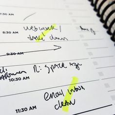 """New planners will be in stock late Jan or early Feb. Today I started testing the """"daily"""" version and I love it. I wrote out what I needed first thing in the morning and am highlighting tasks taken care of.  Alternatively this would make time record keeping for freelance or client work SUPER easy. Write when started and stopped along with small todos in the sidebar. (Infomercial voice) I am not only owner of Evil Supply Co. I am also a customer."""