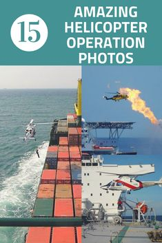 Helicopter operations on ships involves the task of transfer of pilots to and from ships or evacuation of person during medical emergencies. These tasks are conducted with high standards of safety and operational awareness. We have listed below the best 15 helicopter operation images published on Marine Insight Facebook Page . #seaphotography
