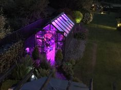 With many of us spending more time in our gardens recently and summer (hopefully) just around the corner, we thought we'd share 6 tips for transforming any garden into a smart garden. Smart Garden, Smart Home Technology, Back Doors, Garden Projects, Swimming Pools, Building A House, Outdoor Structures, Small Greenhouse, Plants