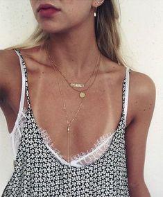 #summer #fashion / pattern print + lace