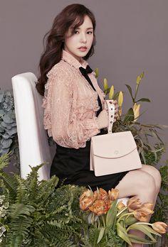 Min Hyo Rin for Samantha Thavasa Spring 2017 Ad