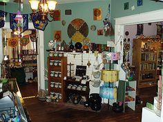 ann+moura+altar+set+up | Ann Moura's Garden -- Official Website Fairy Spells, Home Altar, Kitchen Witch, New Age, Mystic, Meditation, Website, Furniture, Woman