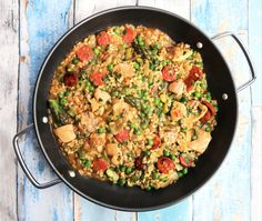 Easy and delicious Spring dishes: Spring Vegetable Paella   IT'S A SHOE THING