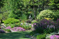 Glorious garden.  Oldtown ID