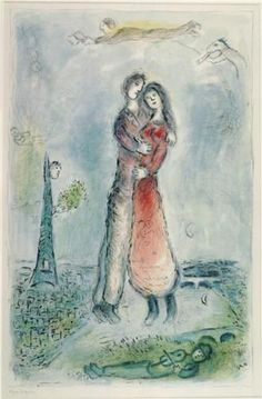 Happiness - Marc Chagall