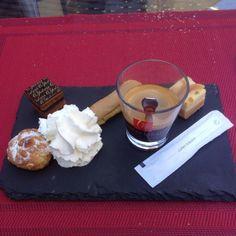café gourmand @Air Hotel sur mon-assiette.com