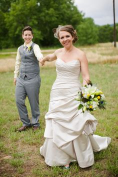 #same sex wedding photo ... Wedding ideas for brides & bridesmaids, grooms & groomsmen, parents & planners ... https://itunes.apple.com/us/app/the-gold-wedding-planner/id498112599?ls=1=8 … plus how to organise an entire wedding, without overspending ♥ The Gold Wedding Planner iPhone App ♥