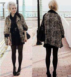 Cute coat tutorial.