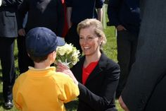 Countess of Wessex (Sophie) visits St Albans' Highfield Park {May 1, 2013}