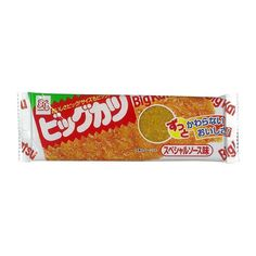 Big Katsu is a Japanese snack food with the appearance and taste of a breaded pork cutlet aka tonkatsu. Instead of pork it is made with surimi and flavored with seasonings and sauces to make it resemble a tonkatsu. Japanese Rice Cake, Japanese Snacks, Ramen Flavors, Tofu Sauce, Gourmet Recipes, Snack Recipes, Dried Tofu