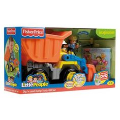Fisher-Price® Little People® Dig 'n Load Dump Truck™ Special Edition Gift Set