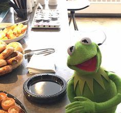 Cross eyed Kermit