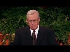 The Test - President Boyd K. Packer - October 2008 General Conference - YouTube