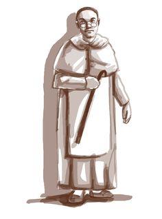 Padre Damaso character design for Rizal's Noli Me Tangere El Filibusterismo Characters, Noli Me Tangere Characters, Art Illustrations, Illustration Art, Character Drawing, Character Design, Camouflage Wallpaper, Jose Rizal, Filipiniana