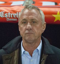 Johan Cruyff, is a former Dutch footballer and was until recently the manager of the Catalonia football team.
