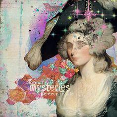 Art Journal - Mysteries - A Fairly Fabulous life