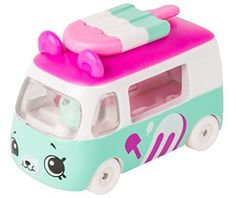 Cutie Cars Shopkins S1 3pk - Freezy Riders