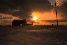 Winter Sunset Truro Cape Cod