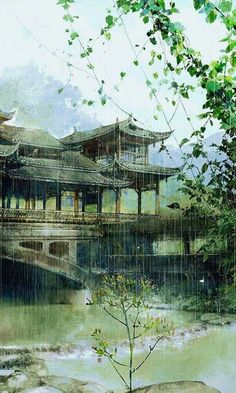 Chinese landscape illustration art of animation 35 New IdeasYou can find Chinese art and more on our website.Chinese landscape illustration art of animation 35 New Ideas Chinese Landscape, Fantasy Landscape, Landscape Art, Fantasy Art, Art Asiatique, China Art, Environment Concept Art, Japan Art, Anime Scenery