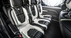 Carlex Will Make Your Mercedes Vito Look Fast & Furious Mercedes Benz Viano, Mercedes Van, Mini Vans, Marco Polo, Entry Level, Fast And Furious, Land Rover Defender, Dream Cars, Car Seats