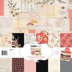 Hanami Garden Paper Pack with Bonus Sticker Sheet