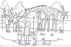 dierentuin kleurplaat de dierentuin wordt ook wel zoo