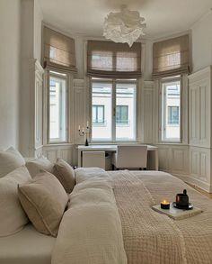 Dream Home Design, Home Interior Design, House Design, Home Bedroom, Bedroom Decor, Bedroom Inspo, Aesthetic Bedroom, Pink Aesthetic, Dream Rooms